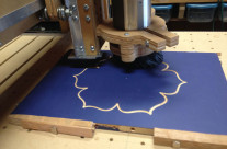 Flower Carving on CNC Machine